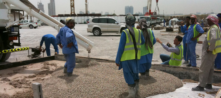 Middle East Concrete Trials